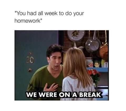 Teachers After Spring Break Smh Meme By Kmz9 Memedroid