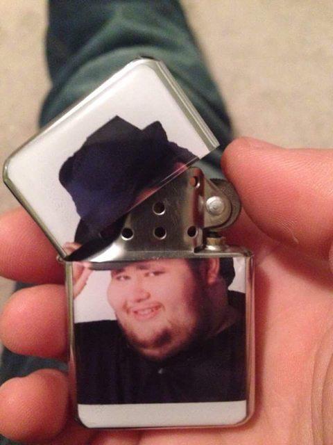 My lighter *tip*