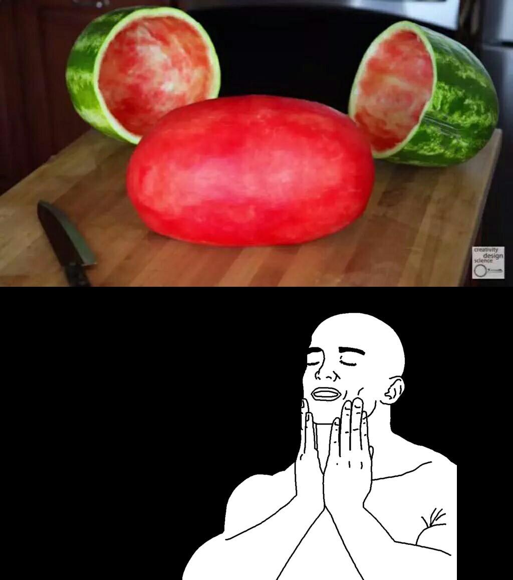 Tittle is watermelon
