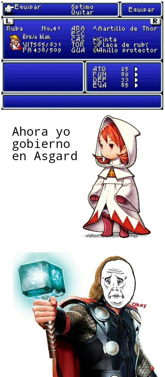 bruja blanca del final fantasy meme by fulano de tal