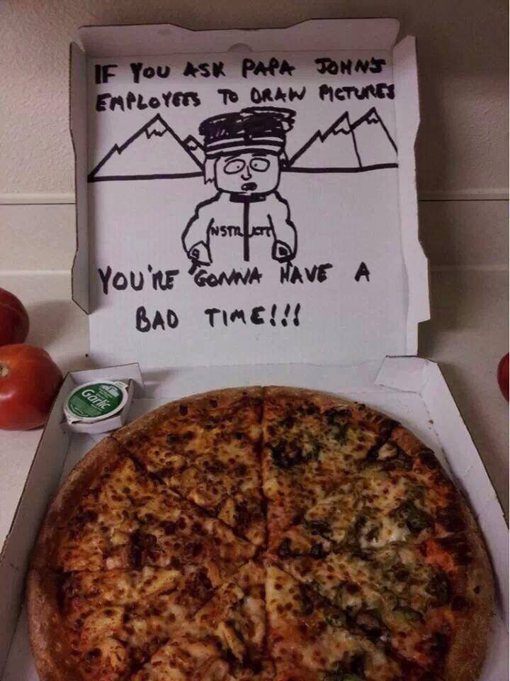 making pizza chemistry wise