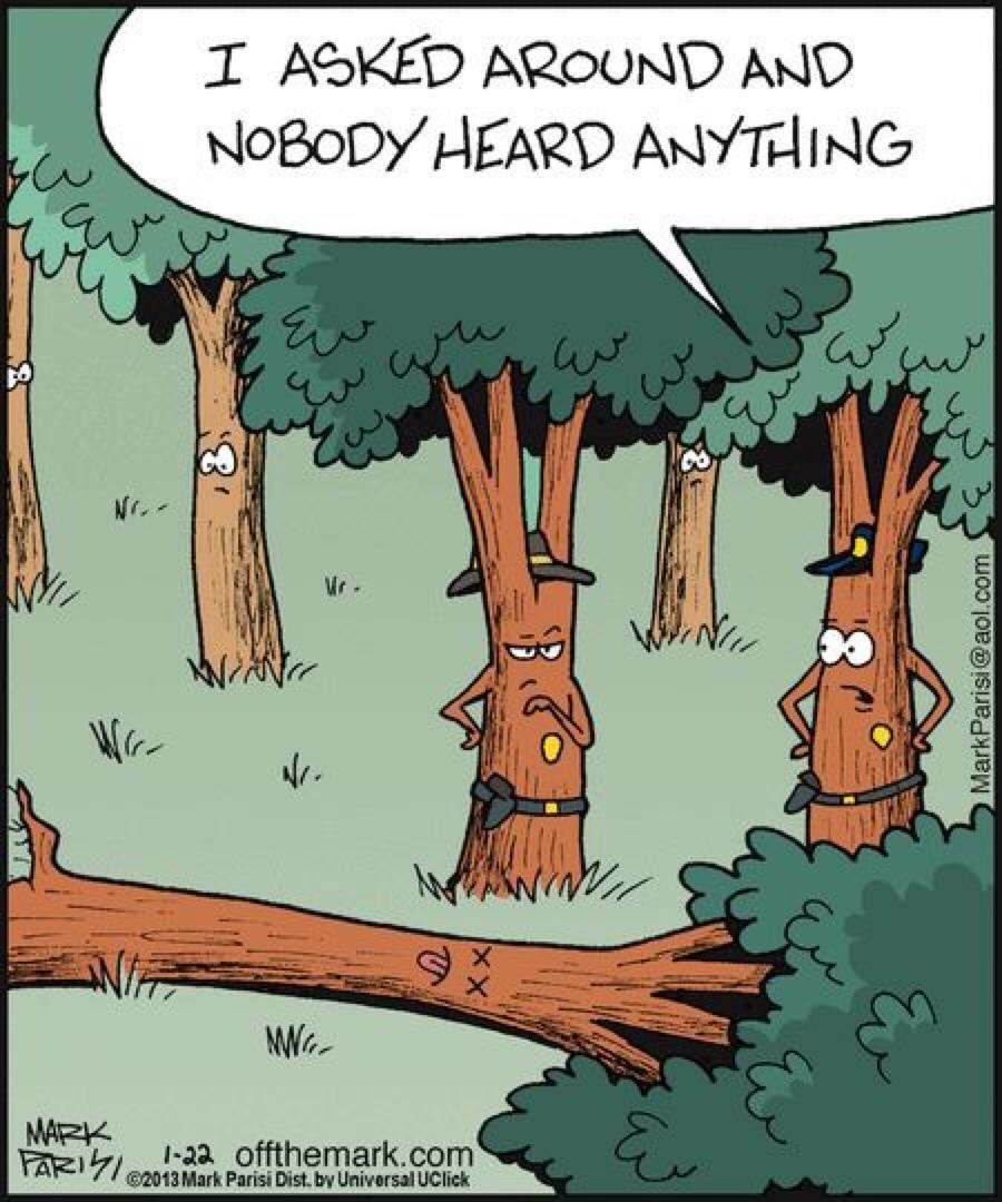 Деревья Анекдоты