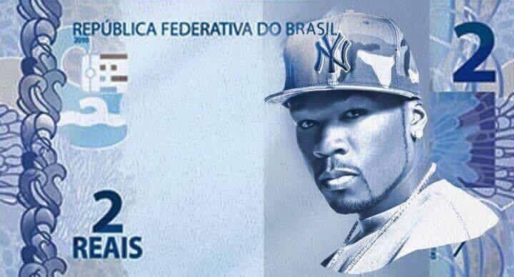 50 cent = 2 reais - Meme by digo.1310 :) Memedroid