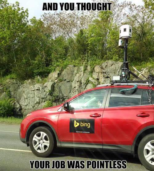 Google>Bing