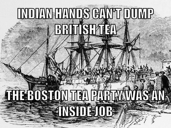 Bush did Boston Tea Party - Meme by Merriam_Webster :) Memedroid