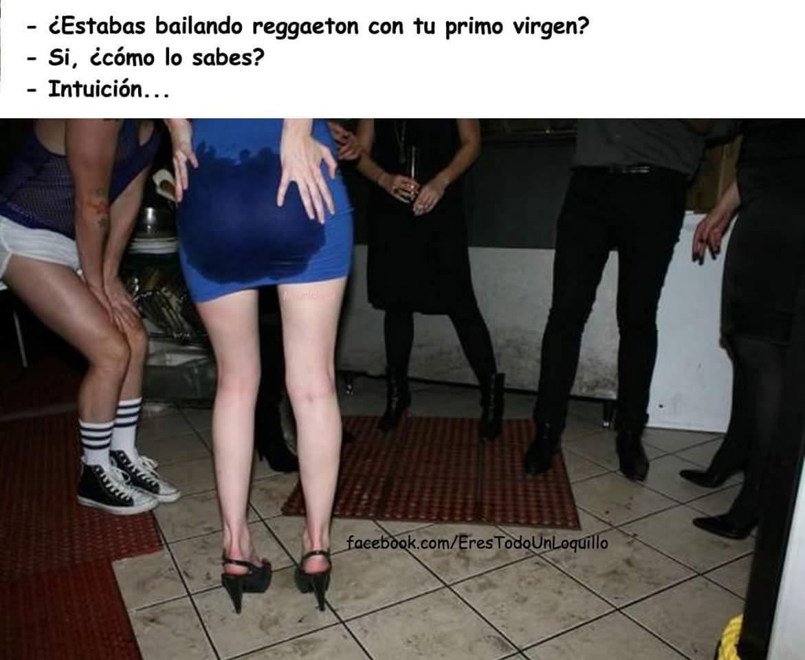 The perreo of reggaeton