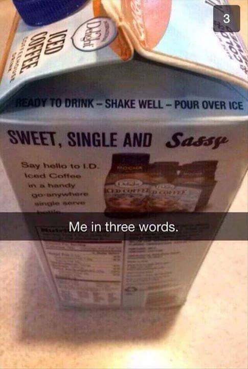 3 words to describe myself