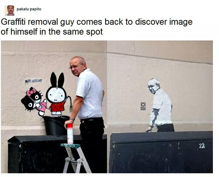 it isn't graffiti, its art