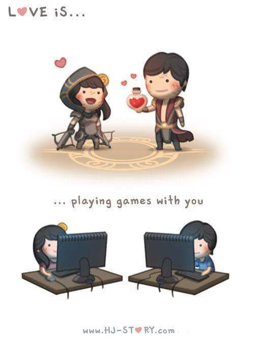 Amor A Lo Gamer Meme By P Paatrii Memedroid