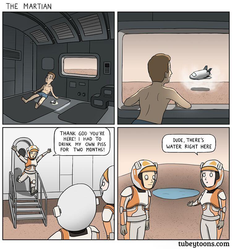 Matt Damon As The Martian Meme By Mustafatopi Memedroid