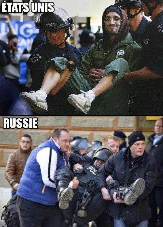 Ah la Russie ...