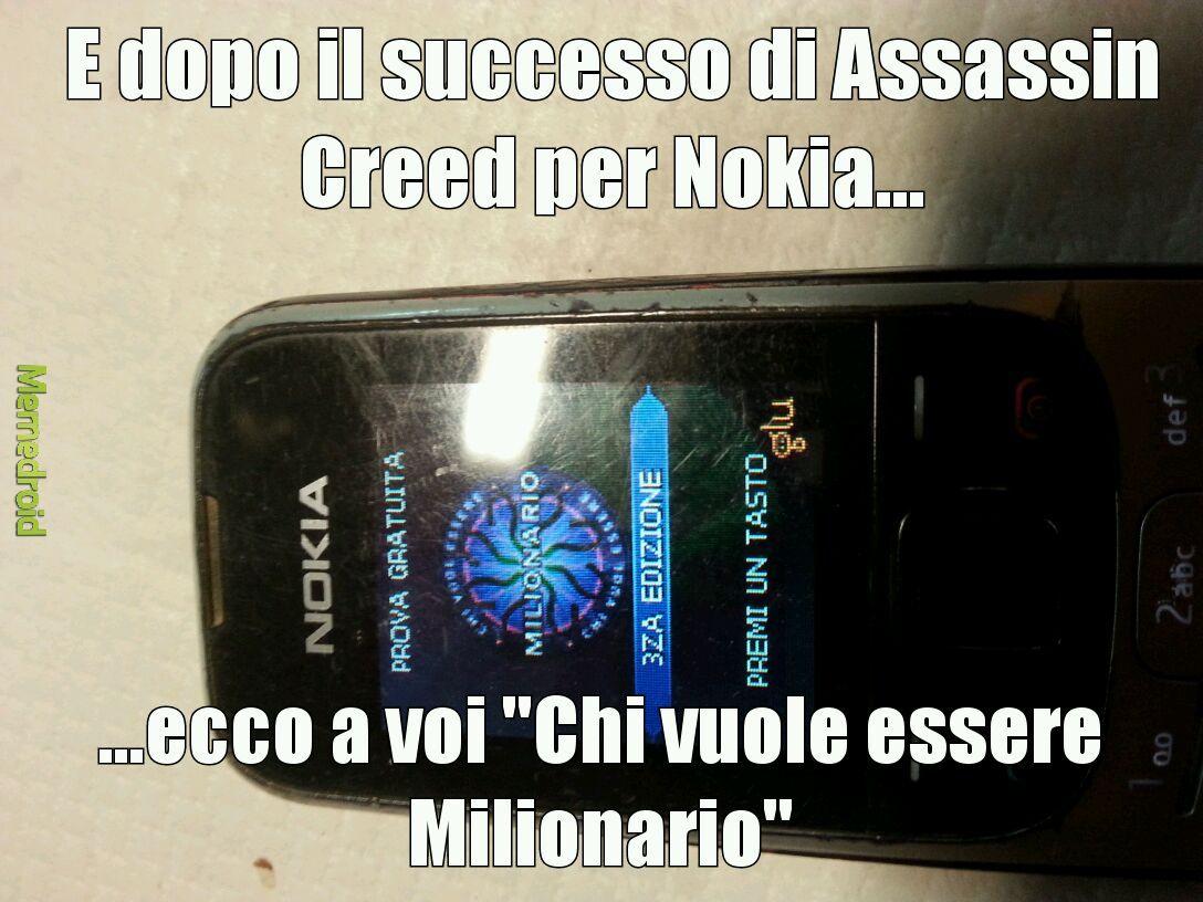 Il Nokia è il dio dei telefoni...cito Matti01
