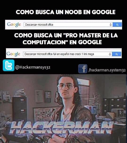 hackerman memes español