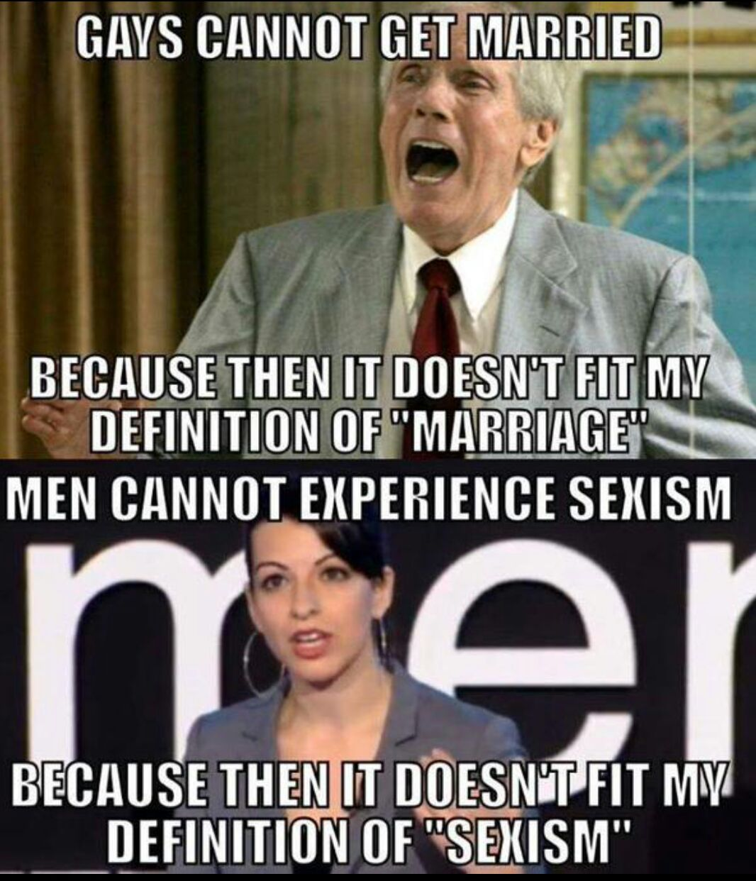 Of gays and men