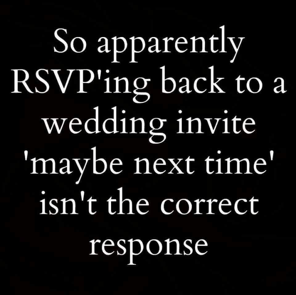 Redneck Wedding Rsvp Meme By Payj94 Memedroid