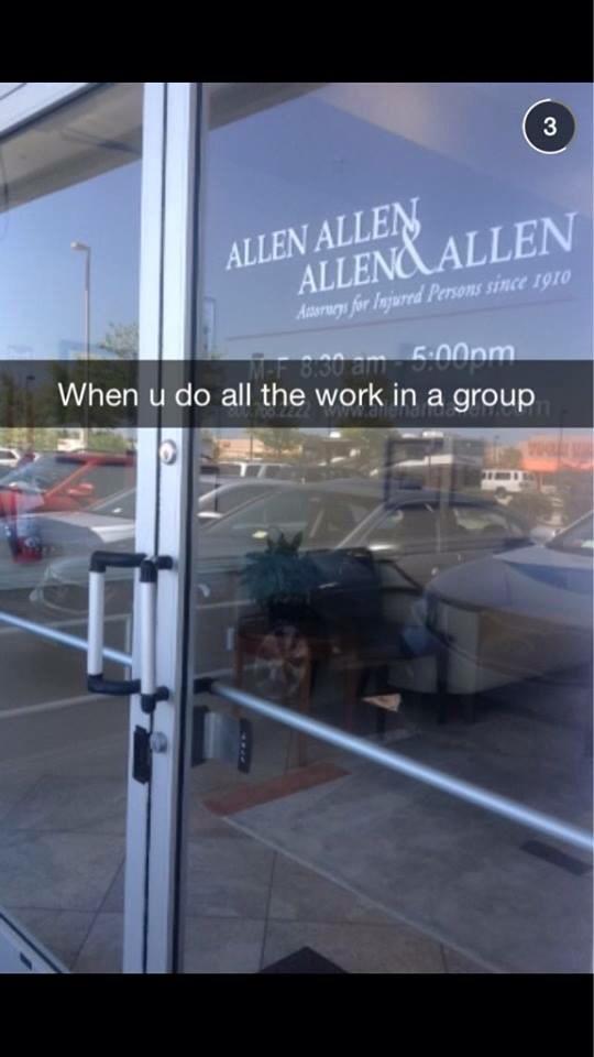 Good guy Allen
