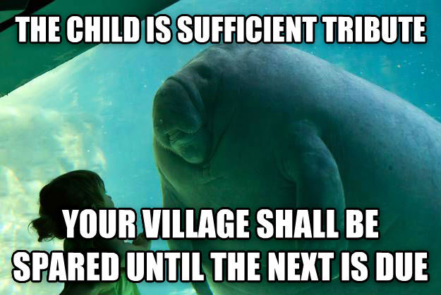 All Hail Overlord Manatee Meme By Papakhan Memedroid