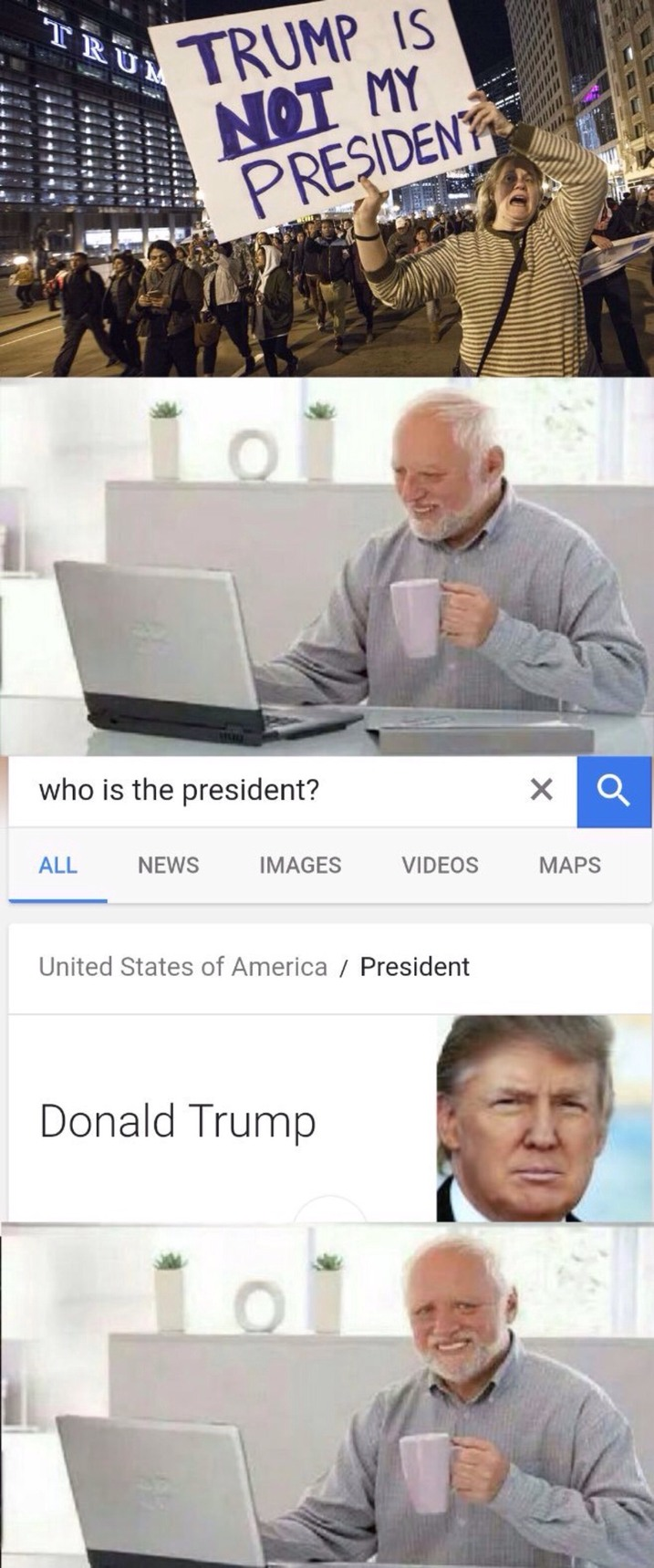 Pour toi Donald Trump .