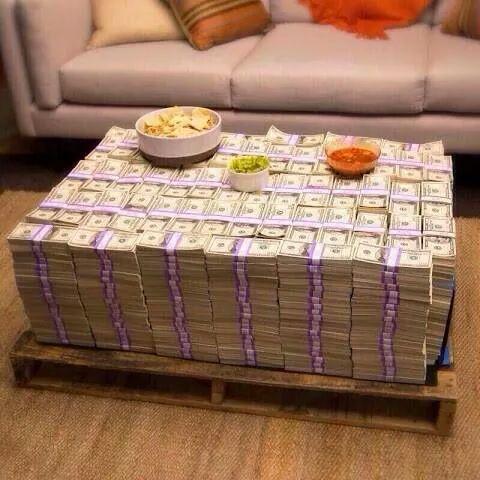 pas d'argent pour une table