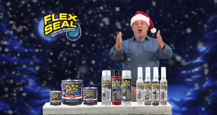 Merry Christmas From Flex Seal Thank You And Flex On Meme By