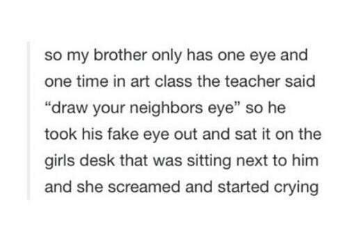 I'd cry