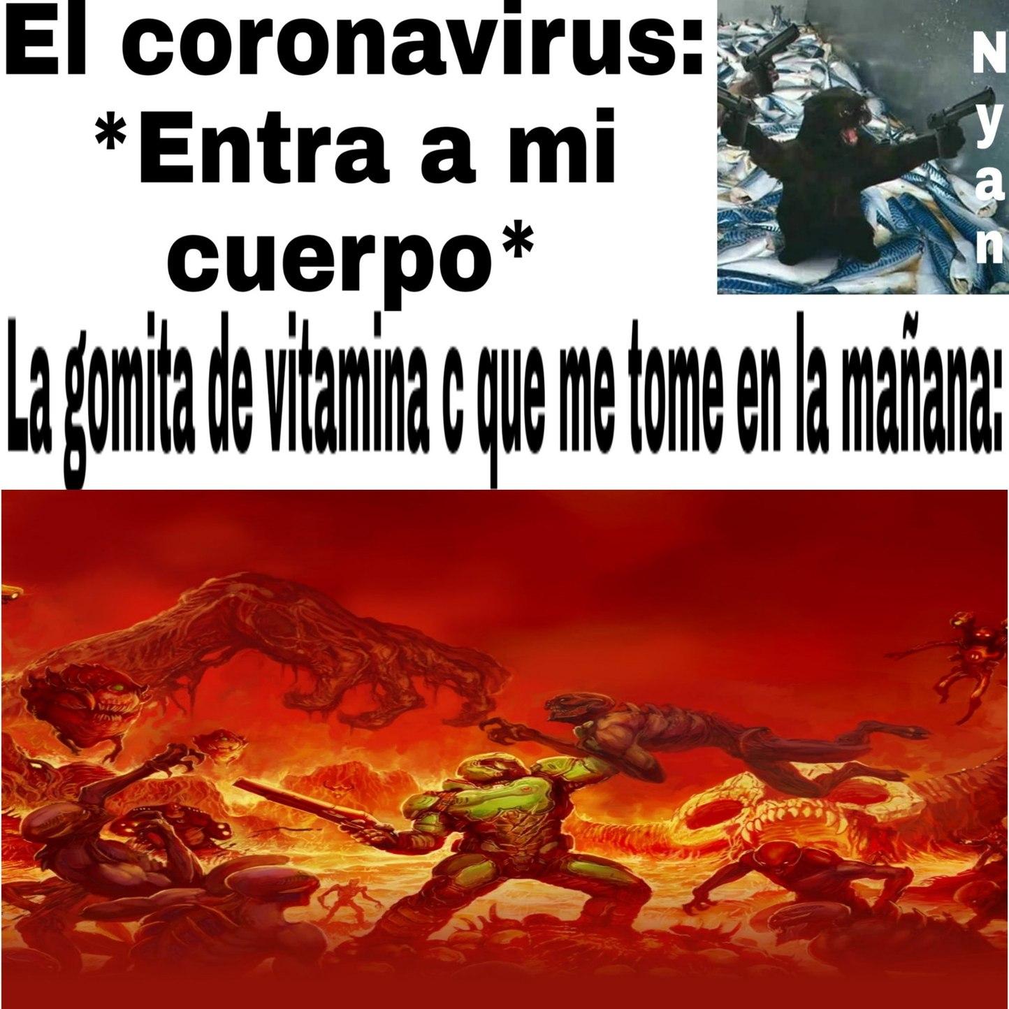 memes de doom eternal espanol