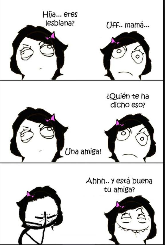 Lesbianas...