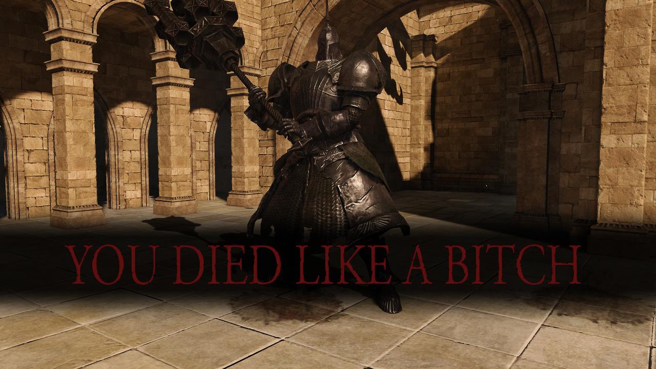 Dark Souls in a nutshell