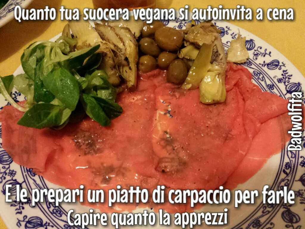 Carne cruda vegana