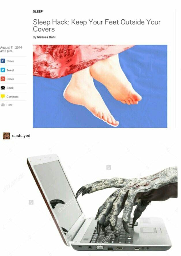 Foot fetish mobile