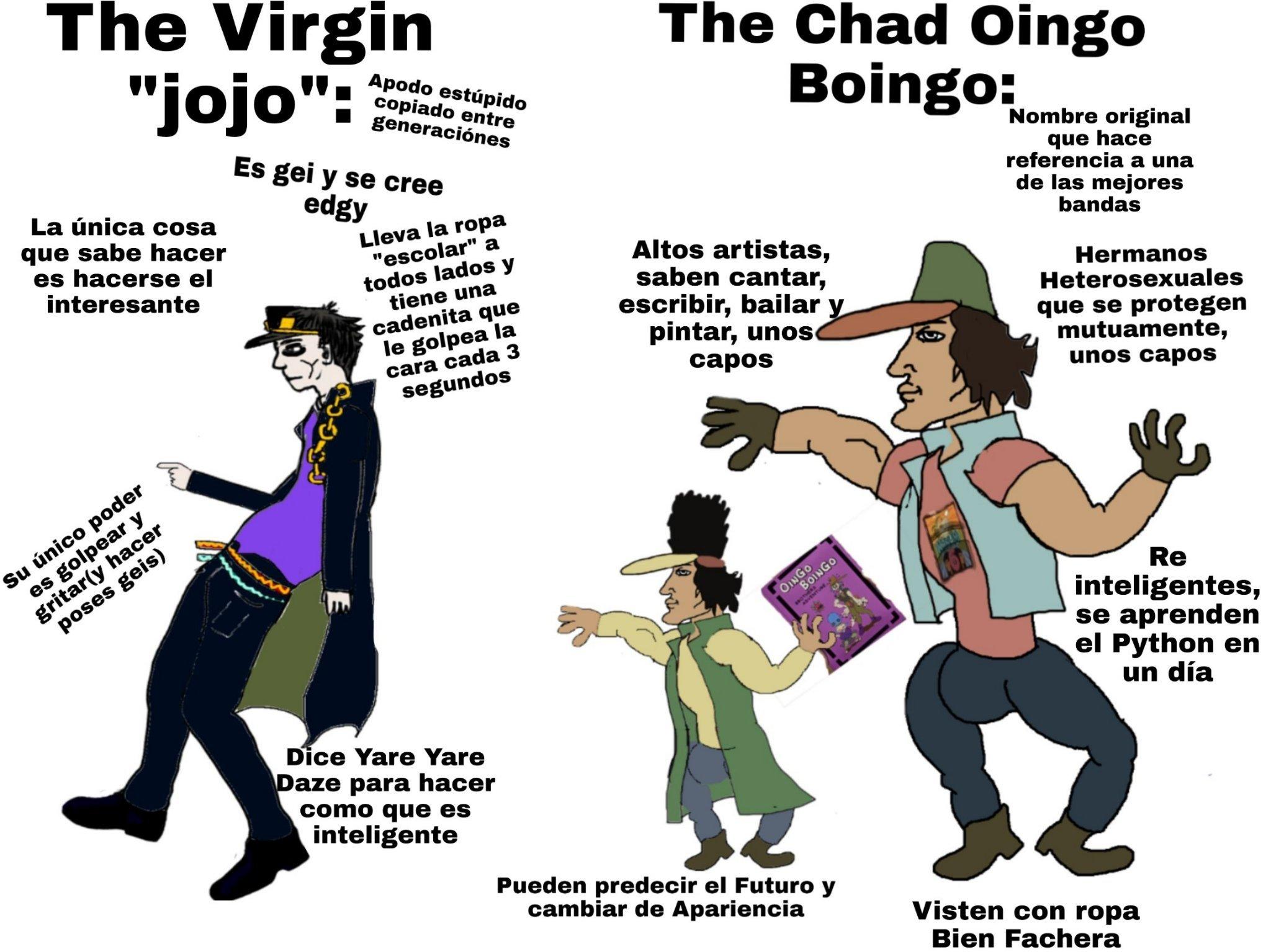 Oingo Boingo Brothers Meme By Doge27 2 Memedroid The ending from jojo's bizarre adventure: memedroid
