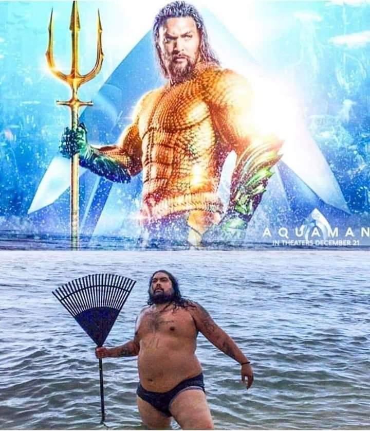 If Aquaman Was Fat Mexican Landscaper Meme By Bugzbunny69 Memedroid