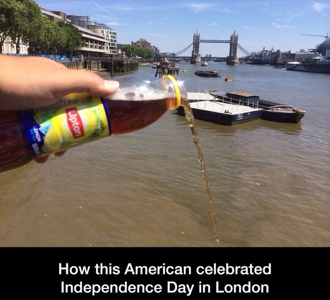 Boston tea party - Meme by Born4Sin14 :) Memedroid