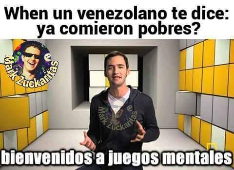 Bienvenidos A Juegos Mentales Meme By Raeve Magmen Memedroid
