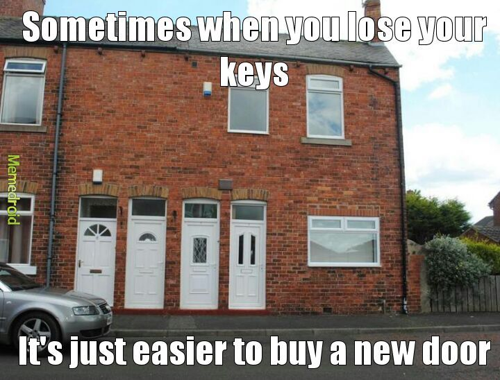 Lost My Keys Again Meme By Phantomaniac Memedroid