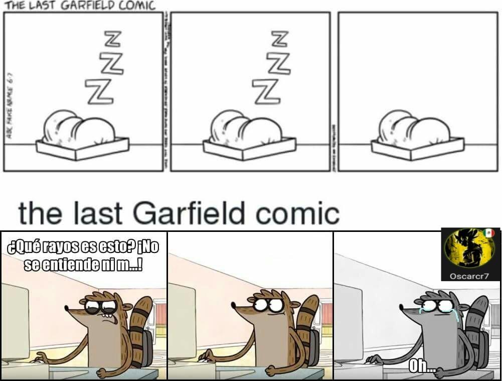 El último Cómic De Garfield Meme Subido Por Oscarcr7 Memedroid