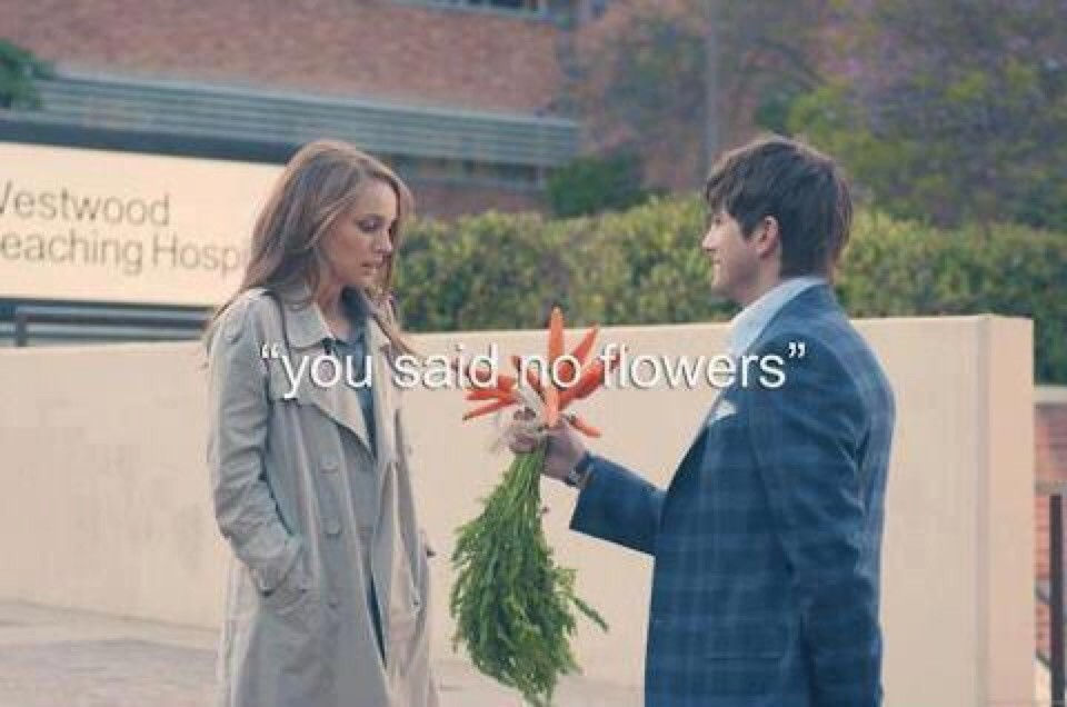 No flowers no problems