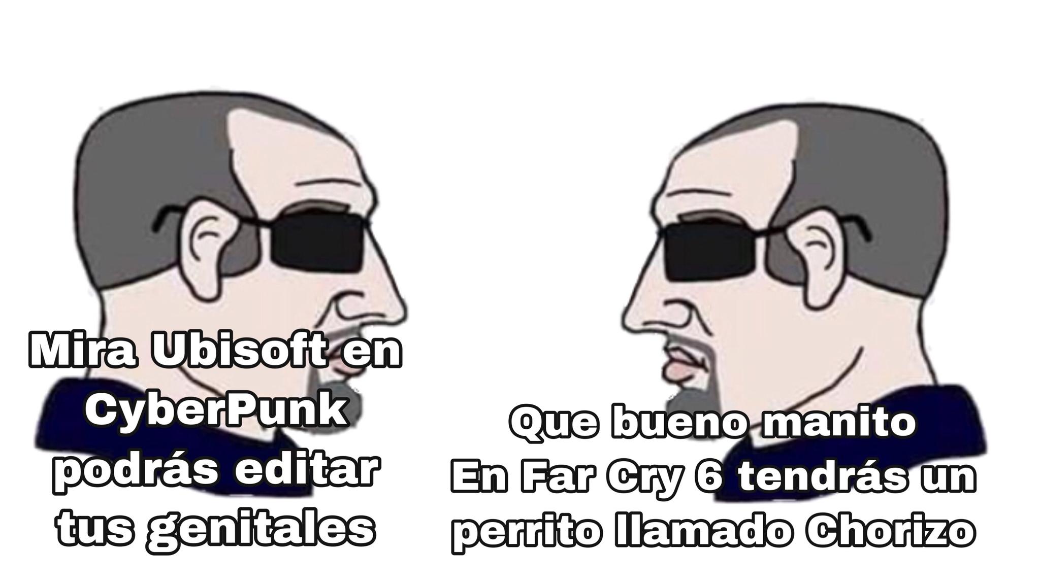 Y Ademas Far Cry 6 Ocurre En Latinoamerica Meme By Santix4774