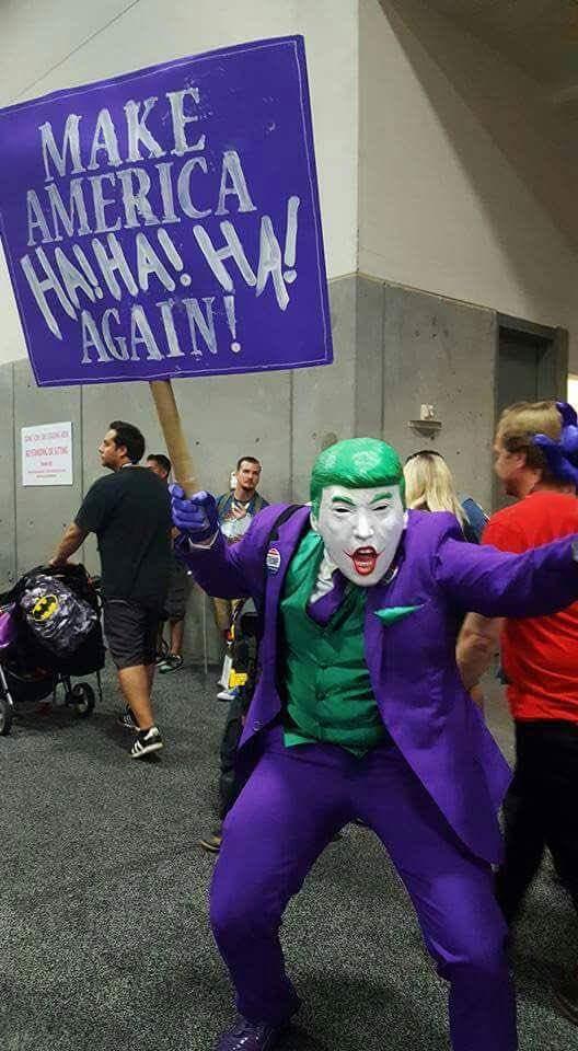 trump is such a joker