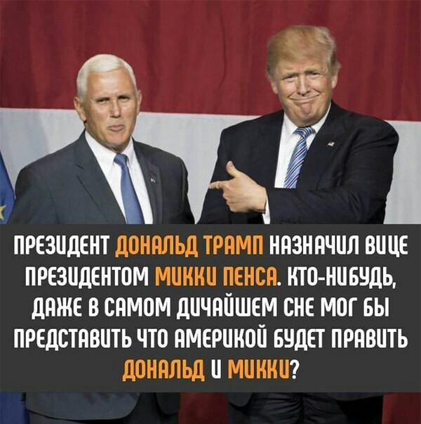 Дональд и Микки