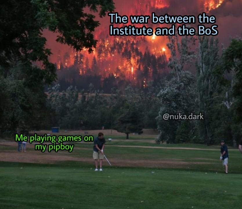 Oc) Fallout 4 - Meme by NukaDark :) Memedroid