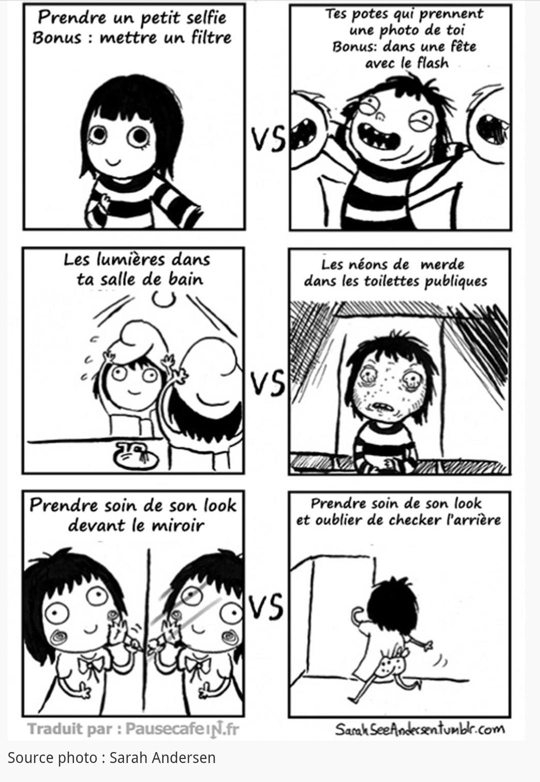 Toi vs la réalité