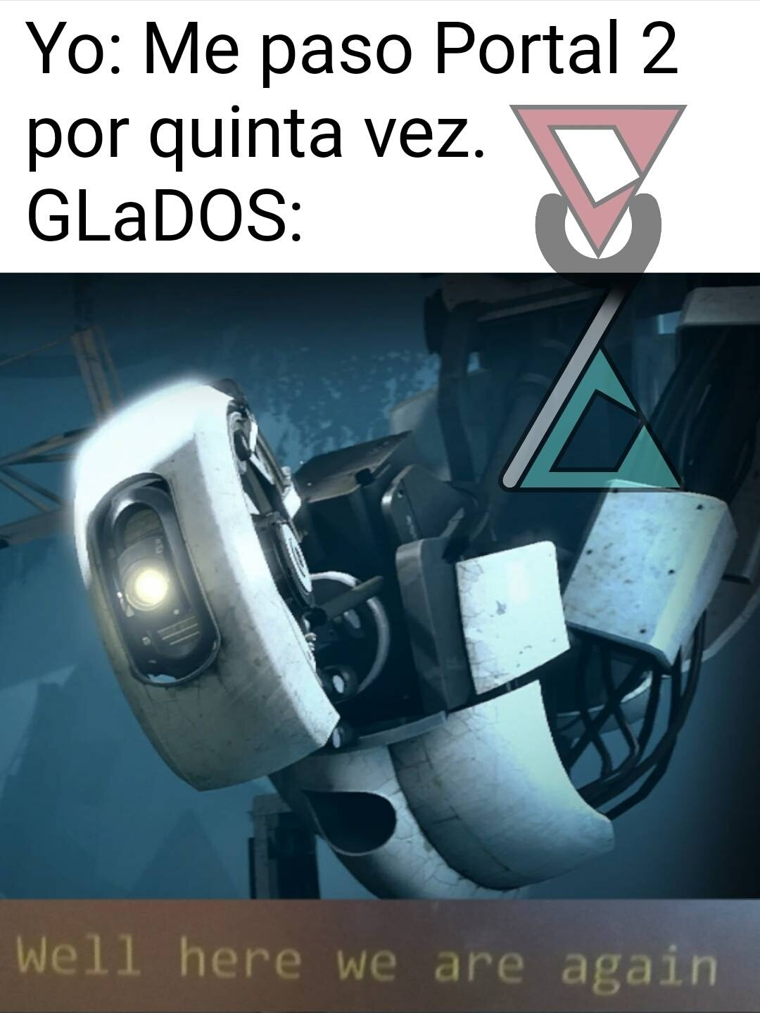 Glados Meme By Cyc Subject97 Memedroid