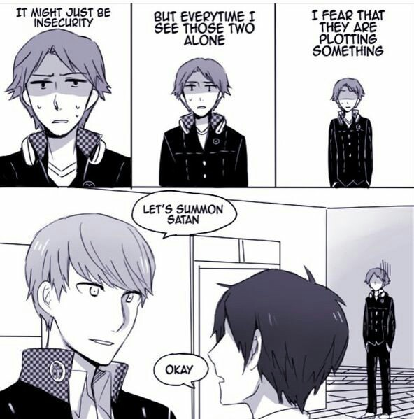 When Persona Protagonists Meet
