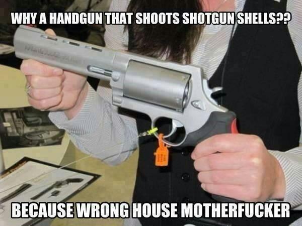 Shotgun Pistol Meme By Echonherb Memedroid