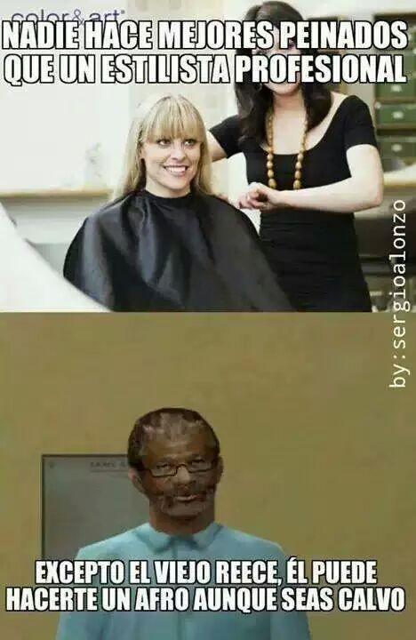 El titulo se fue a cortar el pelo