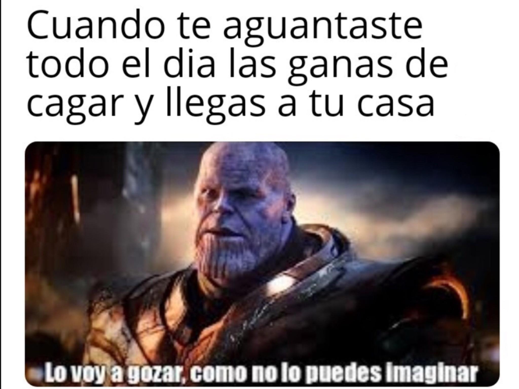 Thanos Uooooooo Meme By Elsenordelosmomazos Memedroid