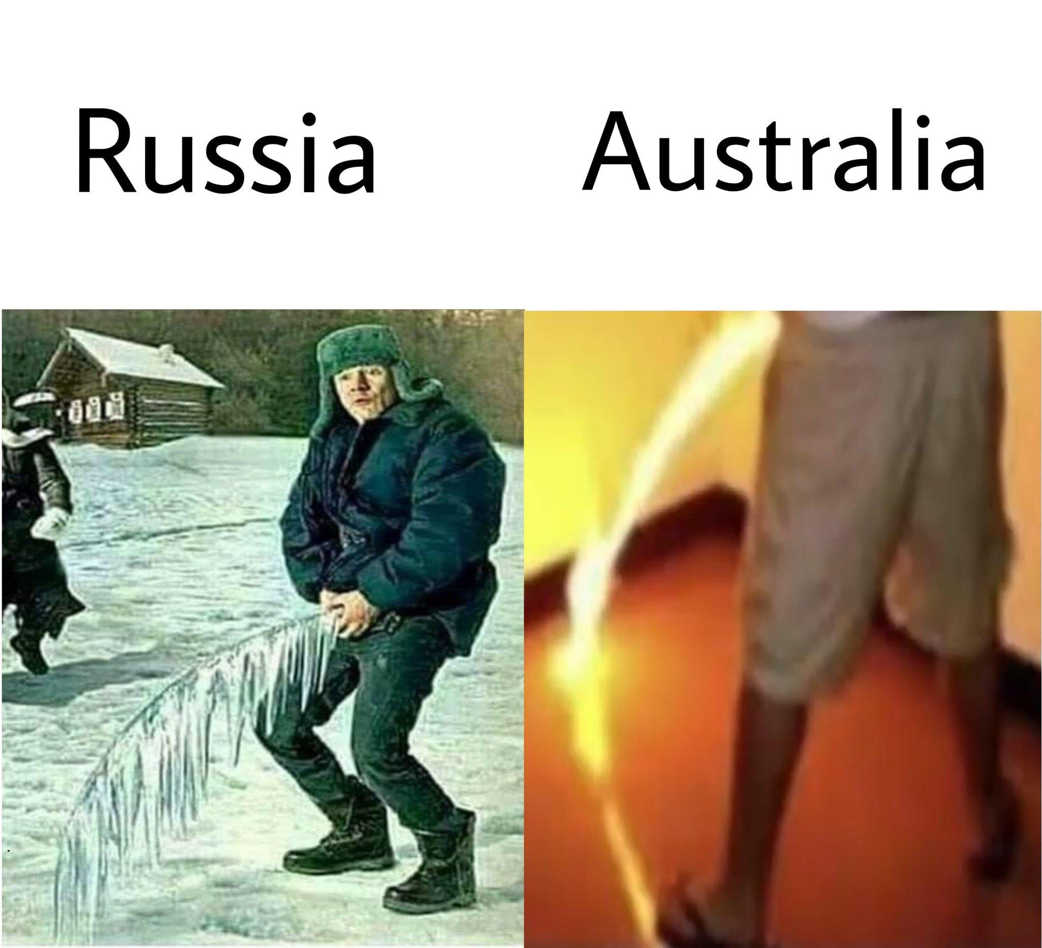 Russia Vs Australia Meme By Axelking Memedroid