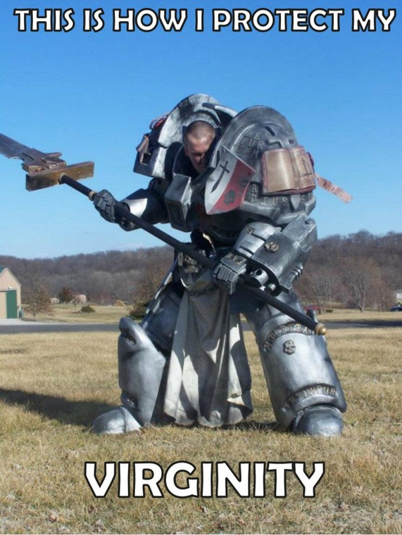 Awesome Grey Knight Cosplay Though Meme By Ulfriikk6999 Memedroid