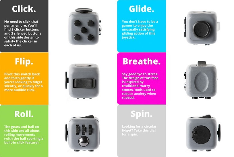 The Fidget Cube A Very Real Thing On Kickstarter